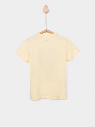 T-Shirt Boy Yellow Tiffosi Kids 10026379