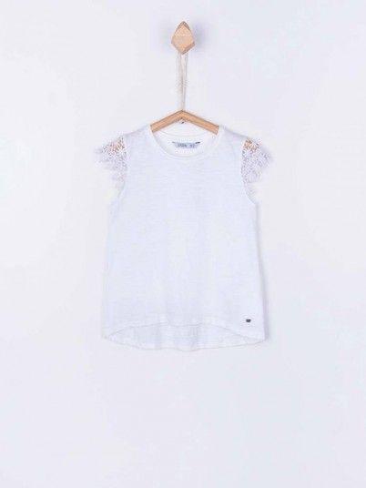 T-Shirt Niña Blanco Tiffosi Kids 10026712