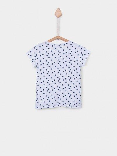 T-Shirt Girl White Tiffosi Kids 10026745