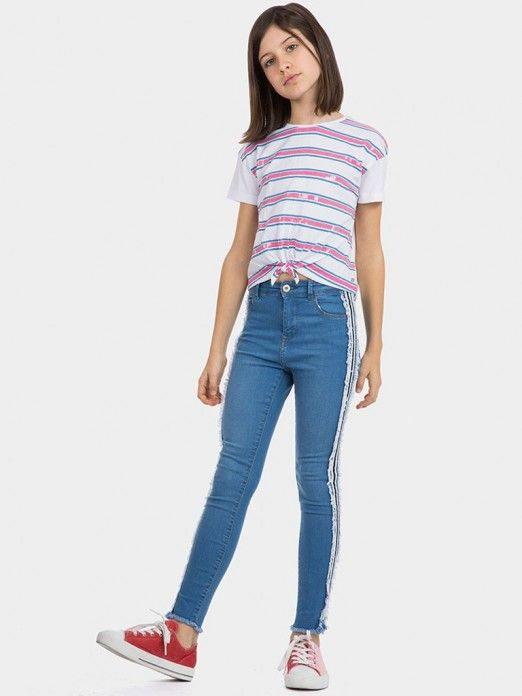 Jeans Girl Jeans Course Tiffosi Kids 10027010