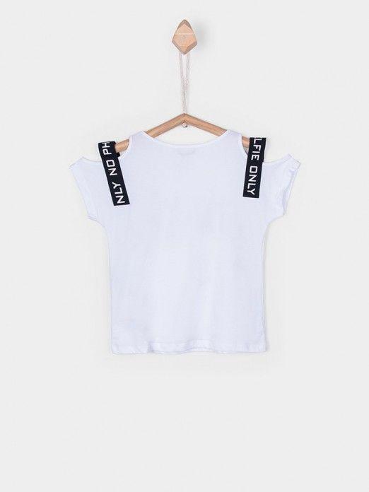 T-Shirt Girl White Tiffosi Kids 10026994