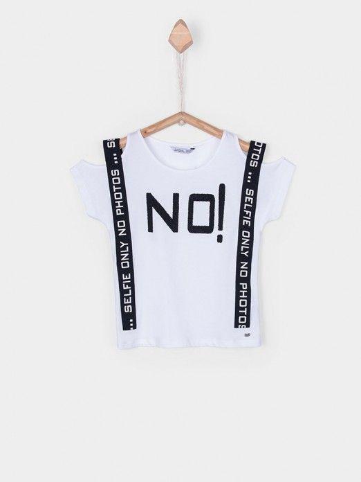 Camiseta Niña Blanco Tiffosi Kids