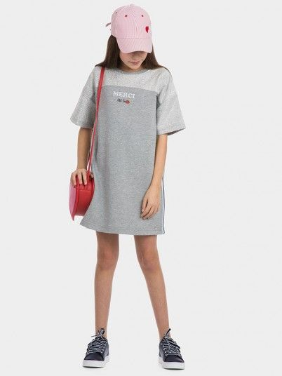 Vestidos Niña Gris Tiffosi Kids 10027278