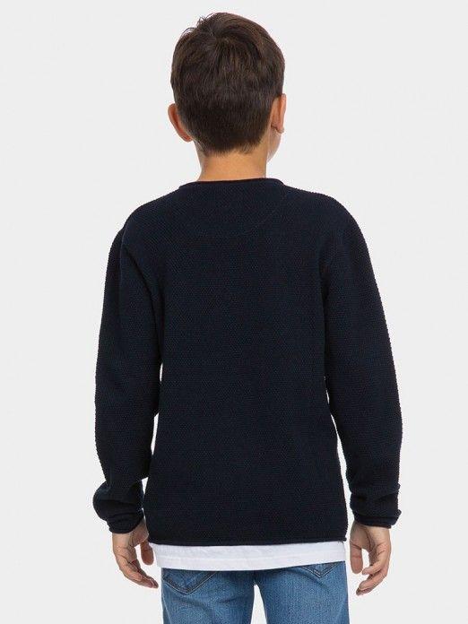 Sweat Niño Azul Oscuro Tiffosi Kids 10027735