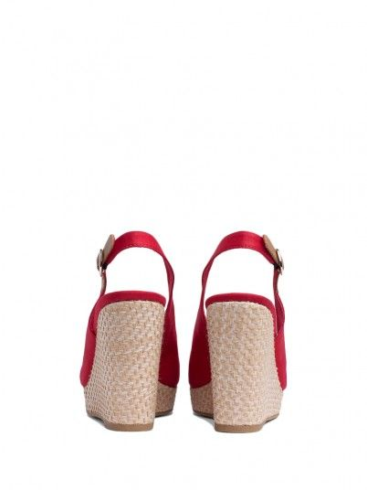 Sandals Women Red Tommy FW0FW04082