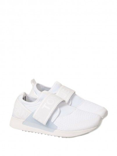 Sneakers Woman White Tommy Jeans