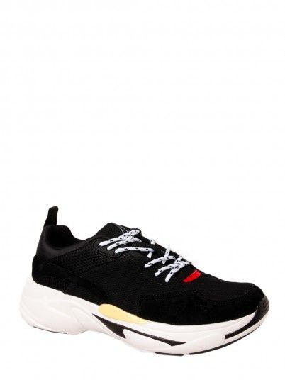 Sneakers Man Black Pepe Jeans London