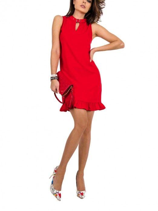Vestidos Mujer Rojo Guess W92K76W9X50