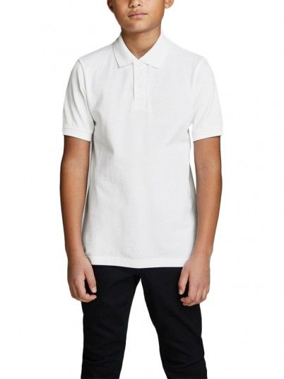 Polo Menino Ebasic Jack Jones