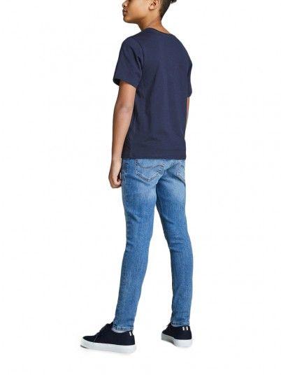 Camiseta Niño Azul Marino Jack & Jones