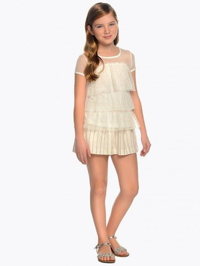 Shorts Girl Beige Guess 6209