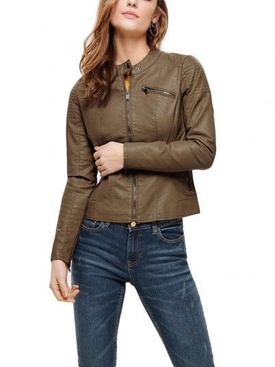 Chaqueta Mujer Marrón Only 15167866
