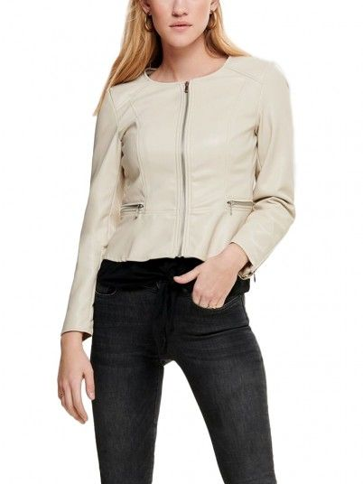 Chaqueta Mujer Beige Only 15169946
