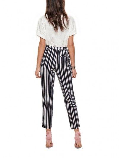 Pantalones Mujer Azul Marino Only 15170033