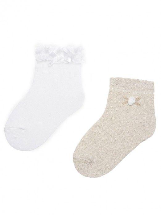 Set meias clássicas bebé menina Mayoral