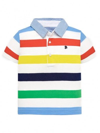 Polo Shirt Baby Boy Multicolor Mayoral 1115
