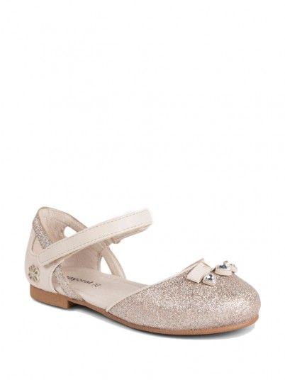 Sapatos semiabertos glitter menina Mayoral