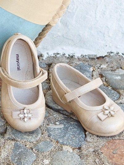 Sapatos cerimónia bebé menina Mayoral