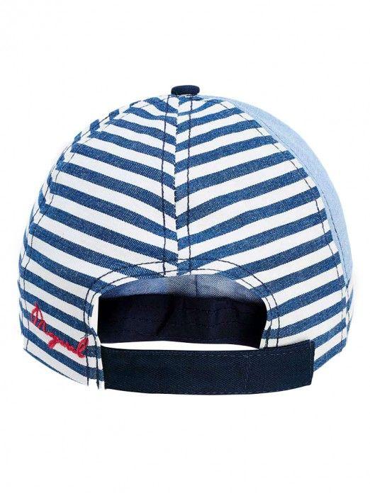 Chapéu com bordado para menino Mayoral