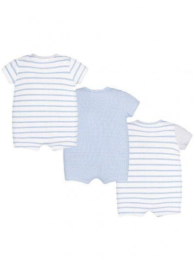 Set pijamas curtos ursinhos bebé recém nascido Mayoral