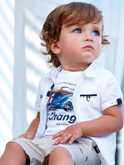 Camisas Bebé Niño Blanco Mayoral N191127