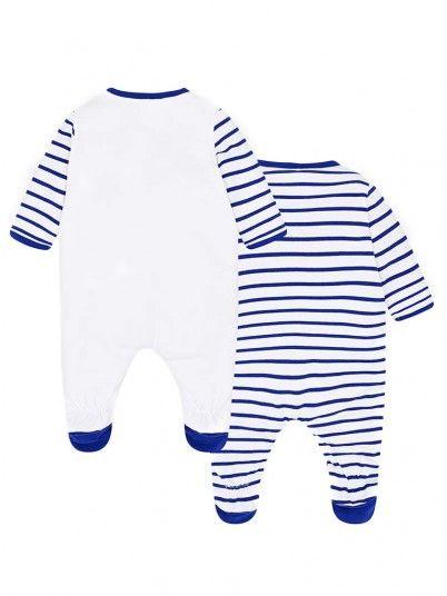 Set pijamas compridos ursinhos bebé recém nascido Mayoral