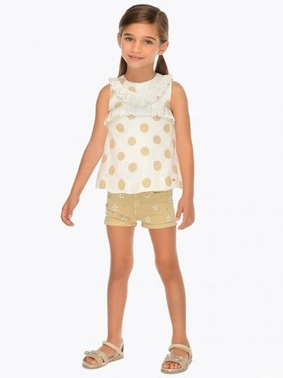 Shorts Girl Beige Mayoral