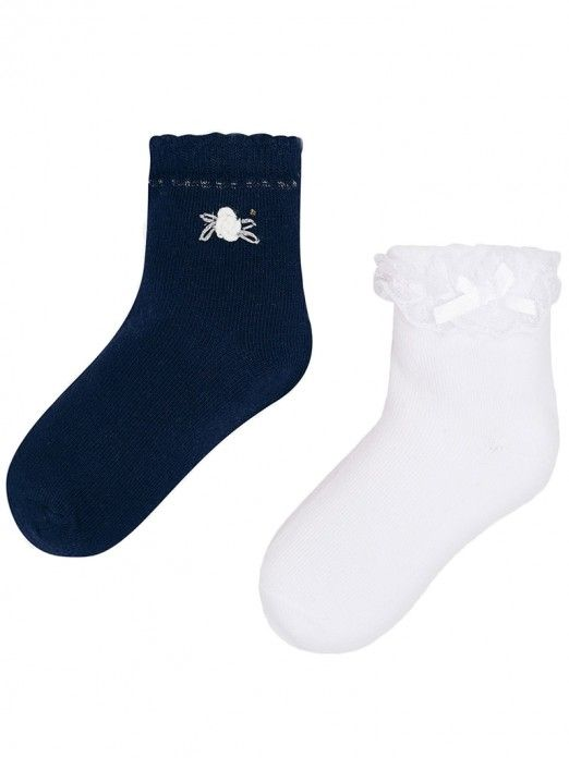 Set meias curtas menina Mayoral