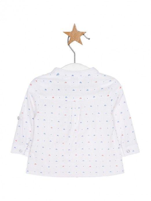 Camisas Bebé Niño Blanco Mayoral 1107