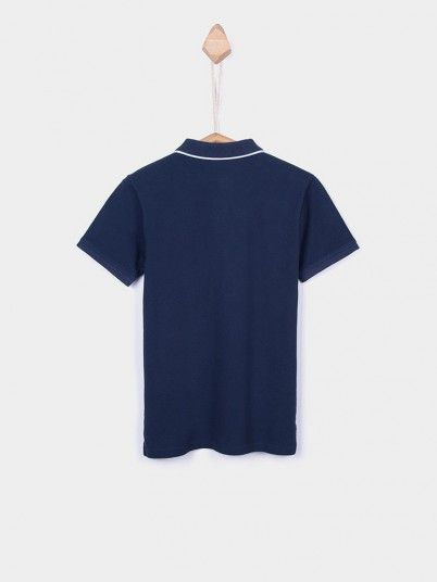 Polo Shirt Boy Navy Blue Tiffosi Kids 10026371