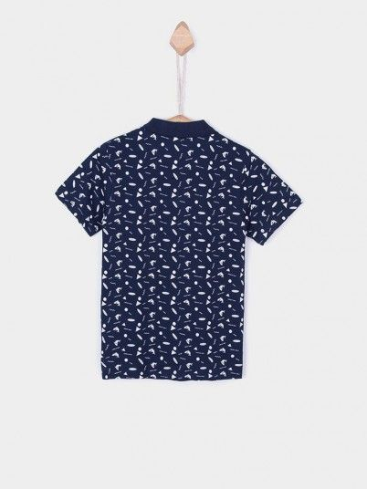 Polo Shirt Boy Navy Blue Tiffosi Kids 10026372