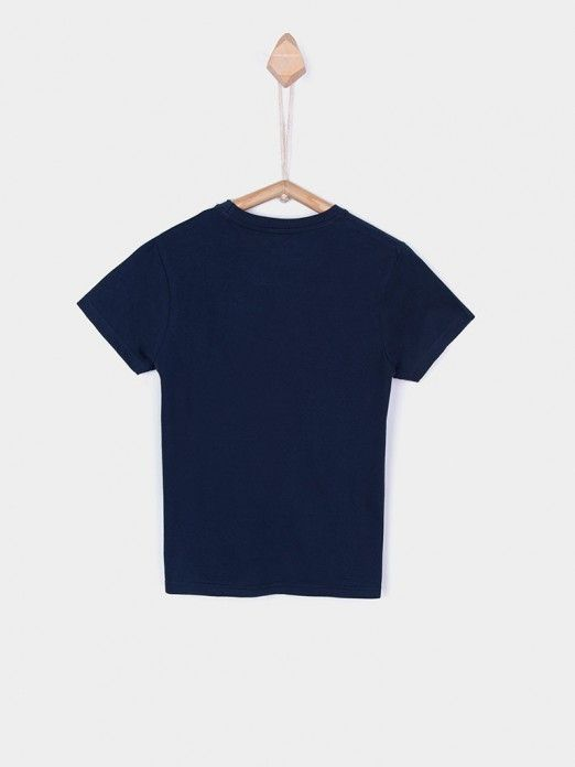 T-Shirt Boy Navy Blue Tiffosi Kids 10026379