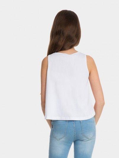 Top Niña Blanco Tiffosi Kids 10026766