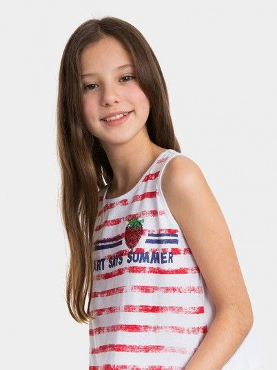 Top Girl White Tiffosi Kids 10026766