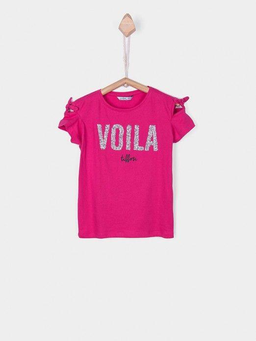 T-Shirt Menina Riviera Tiffosi