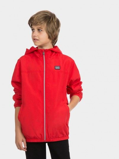 Jacket Boy Red Tiffosi Kids