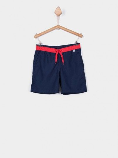 Shorts Boy Navy Blue Tiffosi Kids 10028286