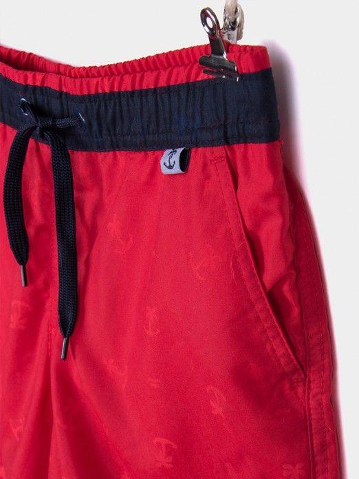 Pantalones cortos Niño Rojo Tiffosi Kids 10028286