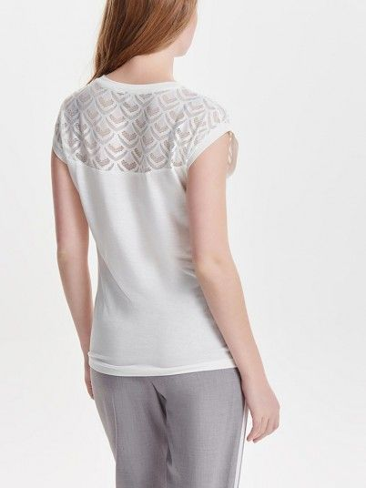 T-SHIRT MULHER NICOLE  ONLY