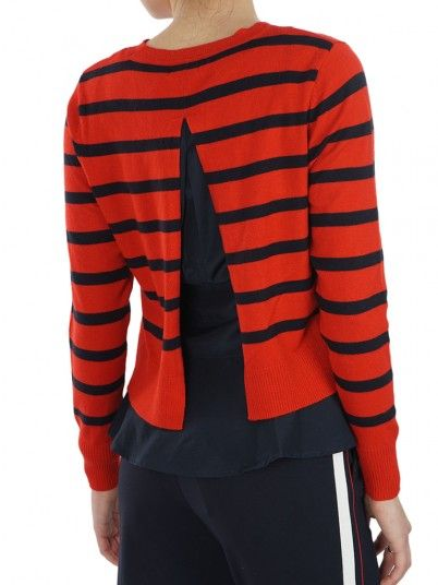 Knitwear Women Red Only 15170611