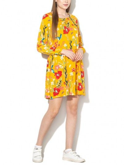 Dress Women Mustard Only 15171804