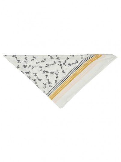 Bufandas y pañuelos Mujer Amarillo Only 15172496