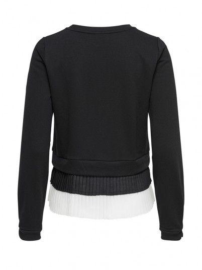 Sweatshirt Women Black Only 15172981
