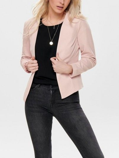 Blazer Mujer Rosa Only 15175126