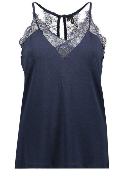 Top Mujer Azul Marino Vero moda 10185863