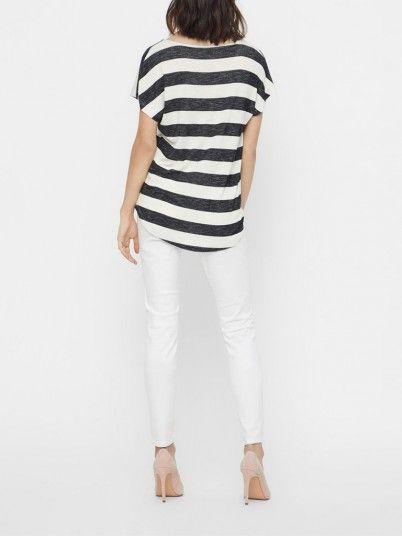 T-Shirt Mujer Negro Vero moda 10190017