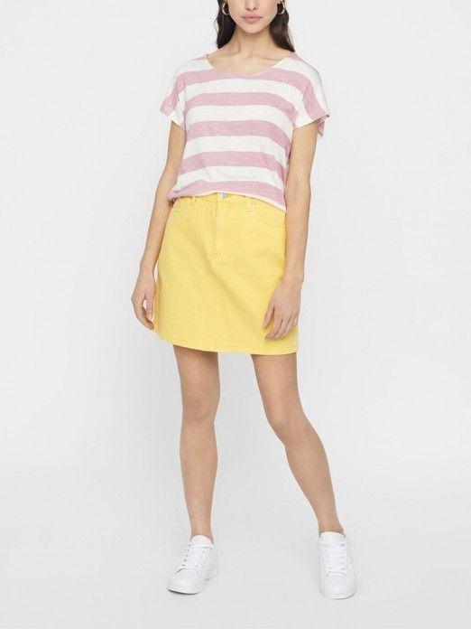T-Shirt Woman Rose Vero Moda