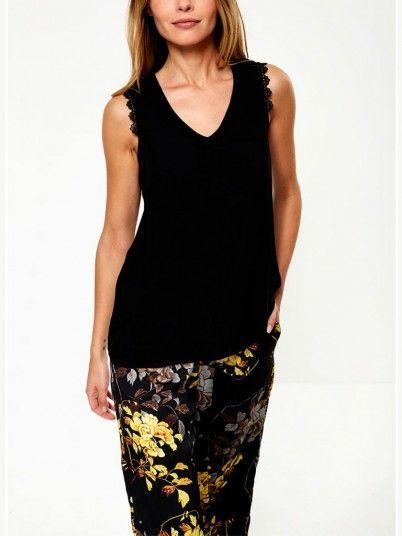 Shirt Woman Black Vero Moda