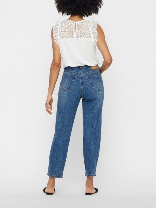 Top Mujer Blanco Vero moda 10196238