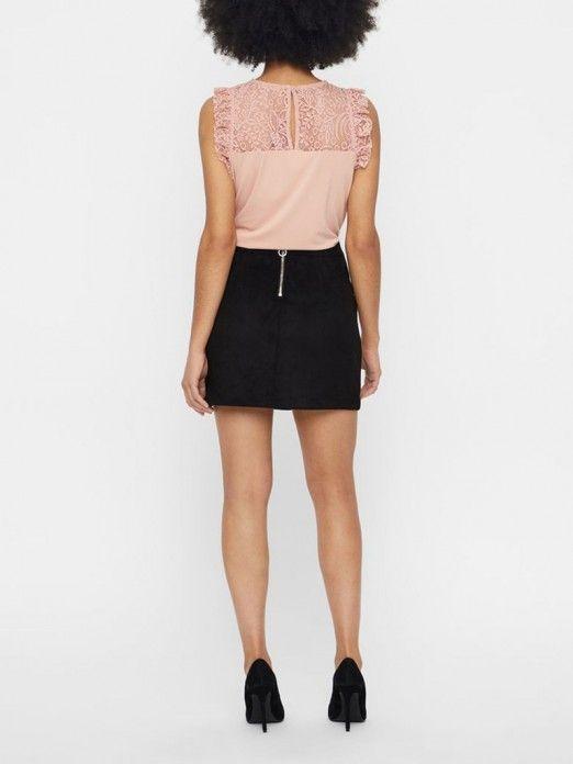 Top Mujer Rosa Vero moda 10196238